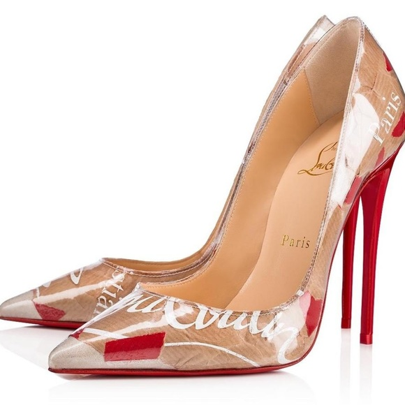 d2c0dbf93dd CHRISTIAN LOUBOUTIN KRAFT PAPER SO KATE PUMP NWT